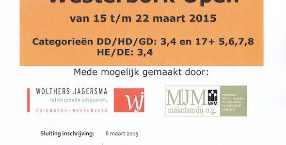 Westerbork Open en TC De Weide Open